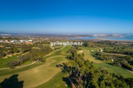 Unique building plots with golf and sea view in...